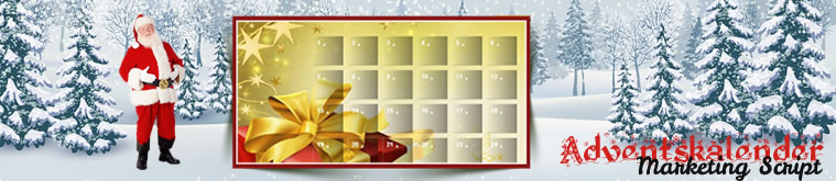Online Adventskalender für die Homepage